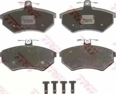 LPR 05P600 - Тормозные колодки, дисковые sparts.com.ua