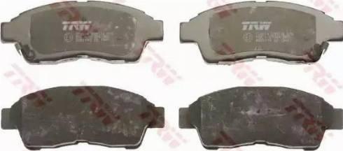 TRW GDB1143 - Тормозные колодки, дисковые sparts.com.ua