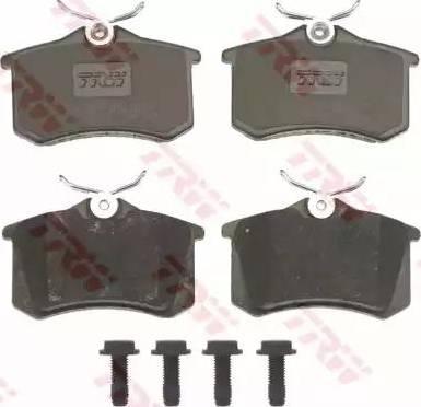 TRW GDB823 - Тормозные колодки, дисковые sparts.com.ua