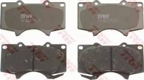 TRW GDB3364 - Тормозные колодки, дисковые sparts.com.ua