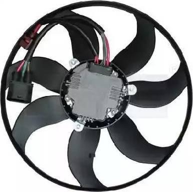 TYC 8370031 - Вентилятор, охлаждение двигателя sparts.com.ua