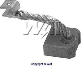 WAI 68-8212 - Угольная щетка, стартер sparts.com.ua