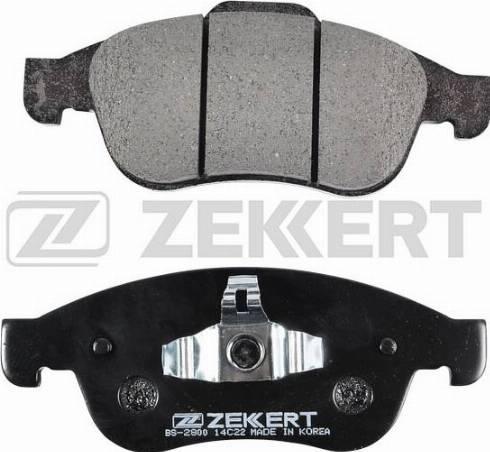 Zekkert BS-2800 - Тормозные колодки, дисковые sparts.com.ua